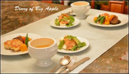 fishcake&豆腐salad