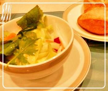 baguette&salad