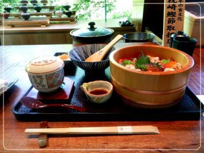 バラ寿司定食