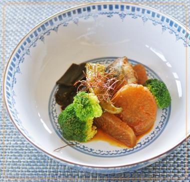 鯖の唐辛子煮