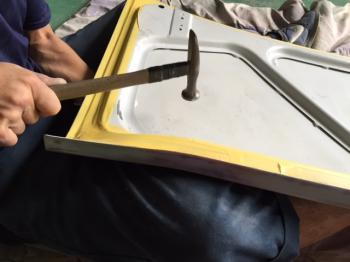 カコスカGT-Rトランク修理④