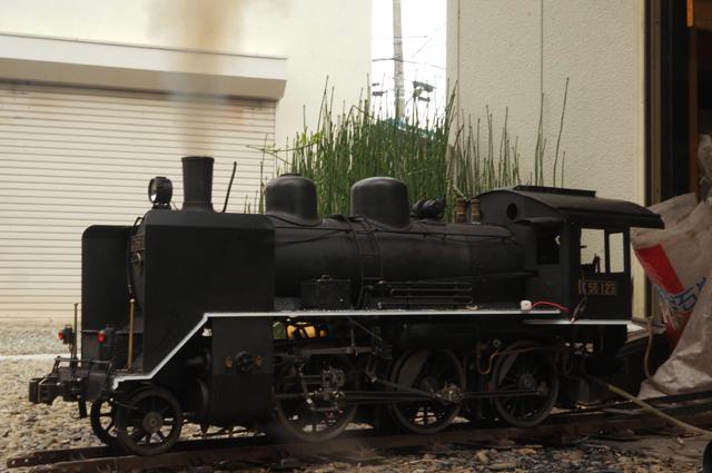 C56 129 黒い煙