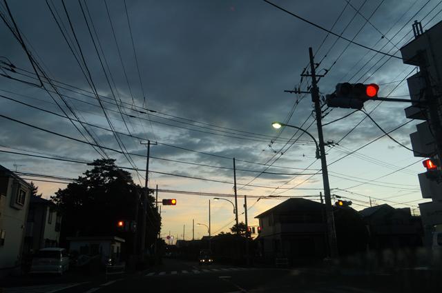 15/7/19の朝焼け