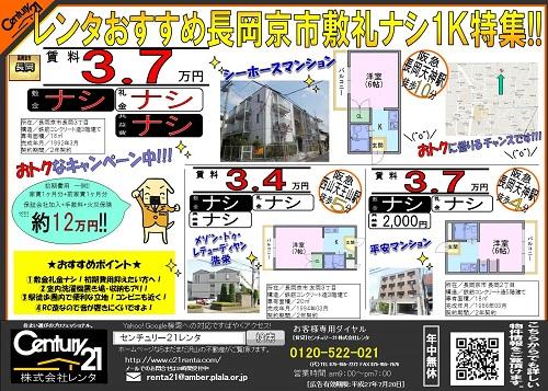 201576長岡ナシナシ1K特集4192