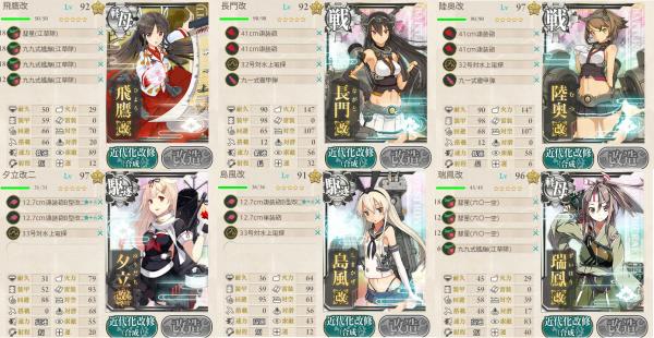 海上突入部隊、進発せよ!前衛支援艦隊