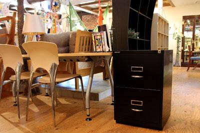ビスレー/BISLEY BASIC F 2段 キャビネット ブラック/黒 オフィス家具