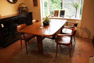 飛騨産業 キツツキ ダイニングテーブル5点セット 飛騨家具