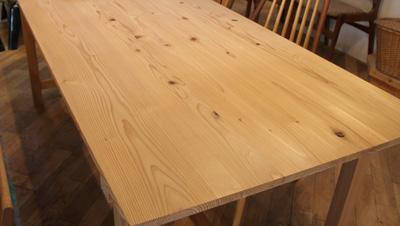 無垢 作業 教室テーブル ダイニング W200