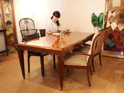 ドマーニ カリモク forza ダイニングテーブル チェア