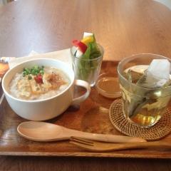 中目黒茶壇のお粥セット