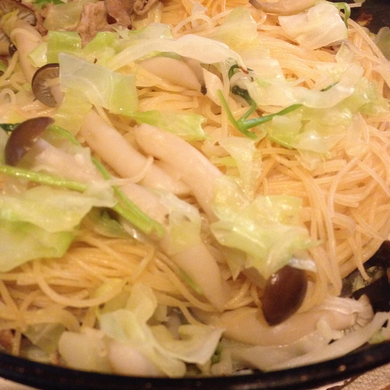 ケンミンの焼きビーフン with ラム肉
