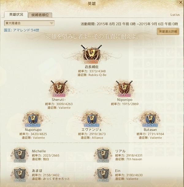 8月1日英雄東