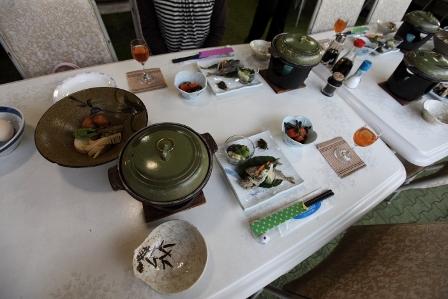 大山ユートピア 夕食2