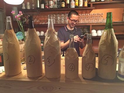 ホンバコでの日本酒イベント