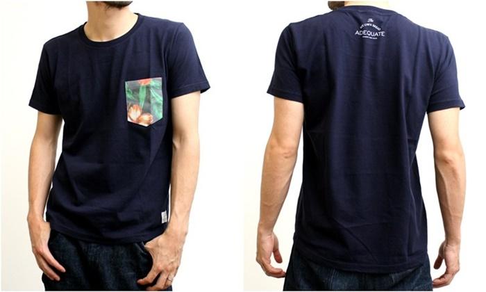 2015-07-10 トロピカル柄ポケット半袖クルーネックTシャツ 2
