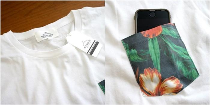 2015-07-10 トロピカル柄ポケット半袖クルーネックTシャツ 4