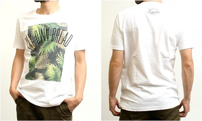 2015-07-10 トロピカル柄プリント半袖クルーネックTシャツ 3