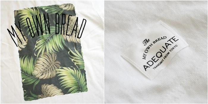 2015-07-10 トロピカル柄プリント半袖クルーネックTシャツ 5
