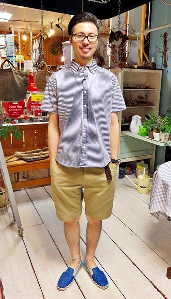 2015-07-27 ストライプシャツ 1  ブログ用