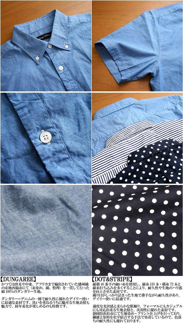 2015-07-29 日本製半袖シャーリングボタンダウンシャツ 2-vert ブログ用