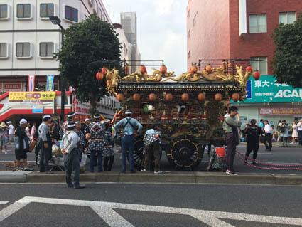4宮祭りマシン