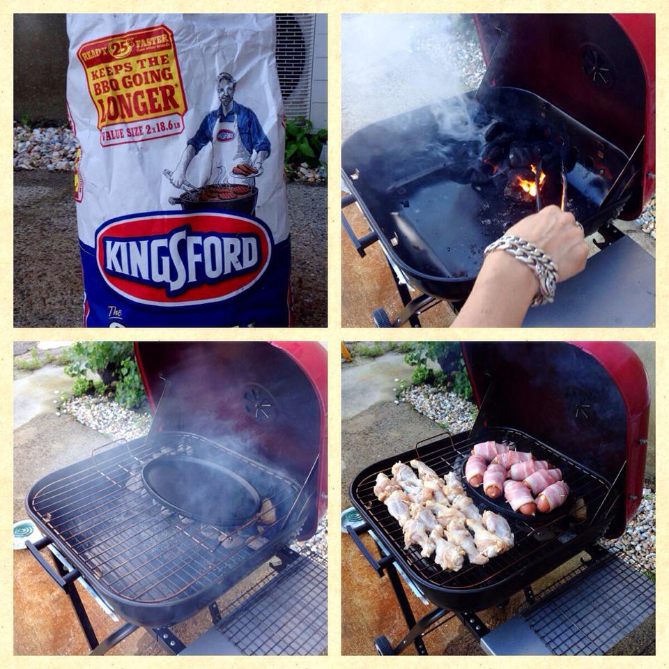 BBQ チャーコール 豆炭 火おこし 準備