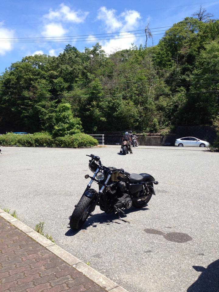 呑吐ダム どんどダム 駐車場 ツーリング ドライブ カスタム バイク