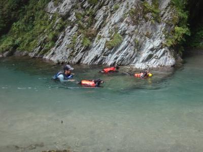 8月1日の川遊び
