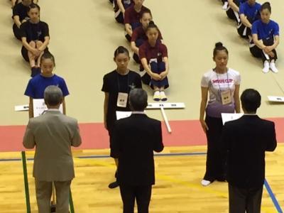ミニ国表彰式