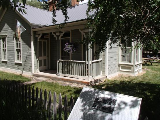 The Hough's House 1877