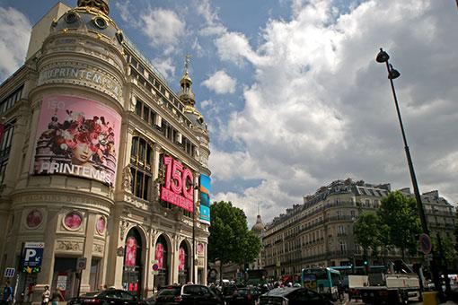 パリの通り