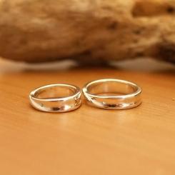 オーダーメイド シルバー 結婚指輪