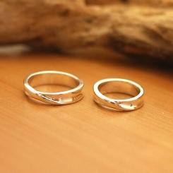 オーダー シルバー 結婚指輪