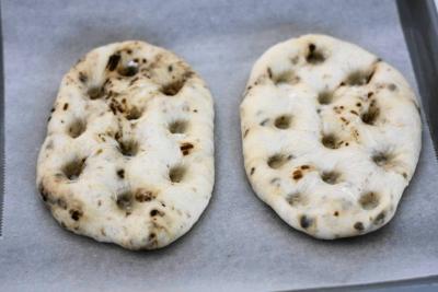 塩昆布と白ごまのチーズフォカッチャ7