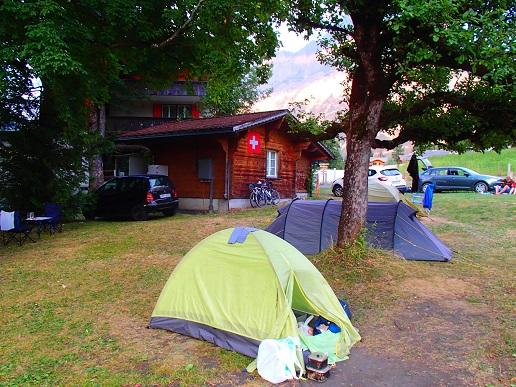 アイガーノードバンドキャンプ場