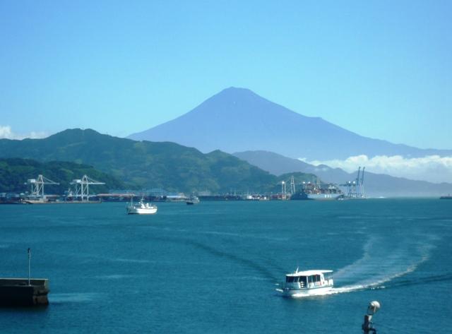 150714朝の富士山2