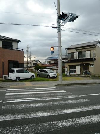 押しボタン式信号:道路