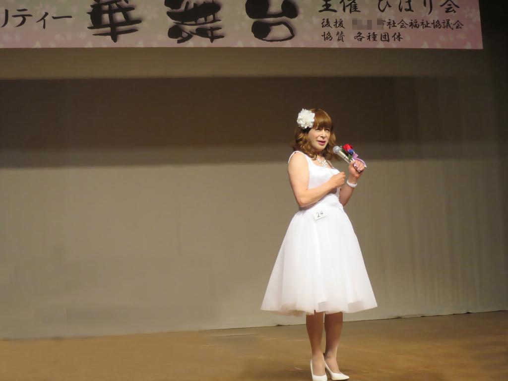 白ショートドレス舞台(1)