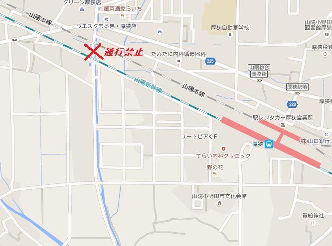 厚狭文化会館地図01