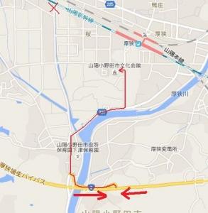 厚狭文化会館地図02
