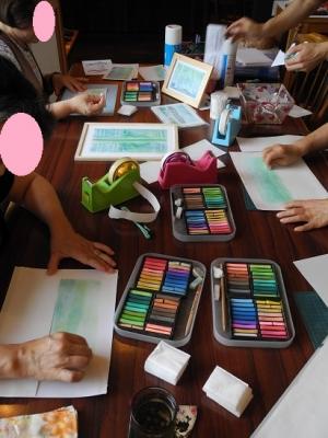 20150630パステル画教室