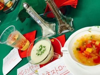 スープとドリンク