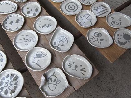 2015「親子で陶芸体験」作品完成2