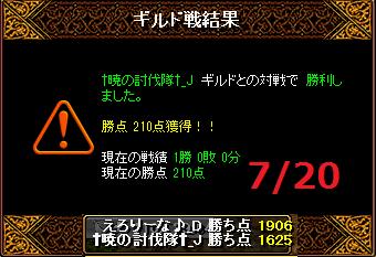 7月20日えろりな†暁の討伐隊†