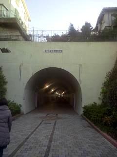 20150111横浜のトンネル