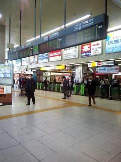 20150128八王子駅