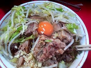 20150207ラーメン二郎三田本店(その7)