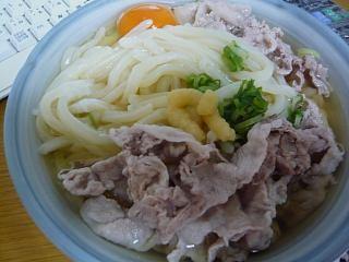 20150105肉うどん(その1)