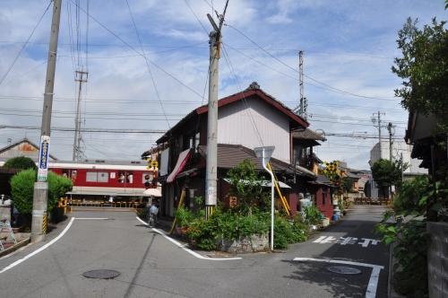 家と線路②