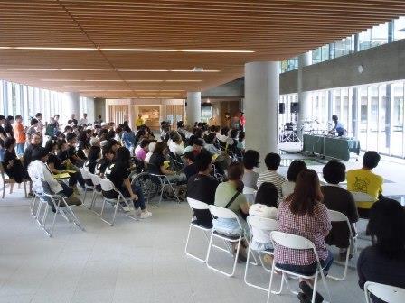 九州歴史資料館碗琴コンサート2(2015-07-05)